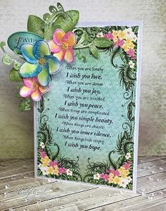 Verity Cards: My Wish for you.....