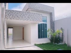 Future House, Duplex Design, Minimalist House Design, House Front, Small House Design, Modern House Exterior, Duplex House Design, Small House, Small House Exteriors
