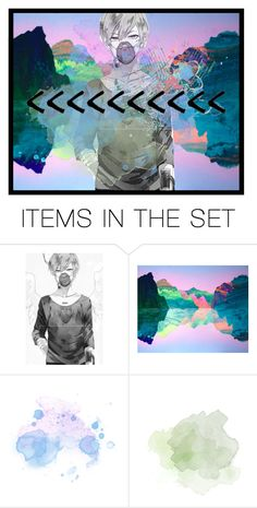 """<<<<<<<<<<"" by degringolade ❤ liked on Polyvore featuring art"