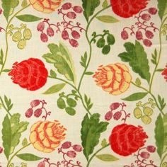 PRIMARY Print Fabrics Fabric 202483S Greenhouse Fabrics Greenhouse Fabrics, Upholstery Fabric For Chairs, Single Chair, Green Fabric, Printing On Fabric, Pattern Design, Swatch, Print Fabrics, Floral