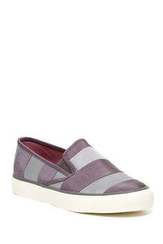 Mariner Striped Slip-On Shoe