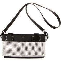 Pre-owned Rag & Bone Pilot Clutch ($195) ❤ liked on Polyvore featuring bags, handbags, clutches, black, black purse, leather purse, leather clutches, leather handbags and black leather clutches