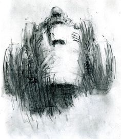 A Ferrari drawing by Rob Ijbema