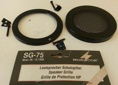 1 griglia mascherine protezione per CASSE ACUSTICHE PER AUTO DIAMETRO 98 mm Radios, Ebay, Speakers