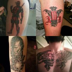 nice Top 100 Dead Pool Tattoo | Finally getting some new ink on Saturday  #ink #inked #tattoos #newink #woop #deadpooltattoo #wadewilson #alterbridgetattoo #ironmantattoo #tonystark #chesttattoo #skulls #angelsanddemons #designs #marvel #armtattoos | http://4develop.com.ua/top-100-dead-pool-tattoo/ Check more at http://4develop.com.ua/top-100-dead-pool-tattoo/