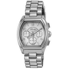 Breda Women`s 5177-silver Tessa Tonneau Silver Tone Boyfriend Watch ♥