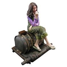 Firefly Big Damn Heroes Kaylee Animated Maquette - Quantum Mechanix - Firefly/Serenity - Statues at Entertainment Earth