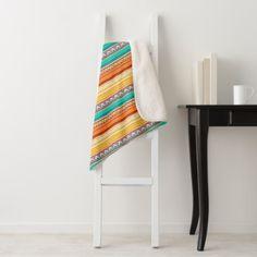Aztec pattern sherpa blanket - patterns pattern special unique design gift idea diy