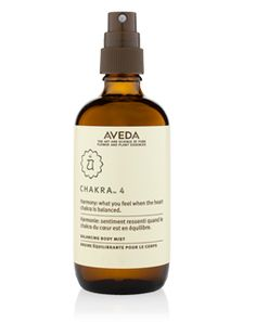 Chakra 4 Balancing Body Mist - center of sympathy, empathy and love Find out more at Aveda.com