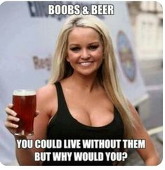 Boobs And Beer Always Go Together – Cumedy Hut – and as best Stress Killer. Adult Dirty Jokes, Funny Adult Memes, Funny Jokes For Adults, Stupid Funny Memes, Funny Quotes, Hilarious, Adult Joke, Sex Quotes, Adult Humor