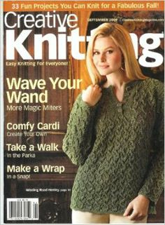 Creative Knitting - September 2009: Barb Bettegnies: Amazon.com: Books