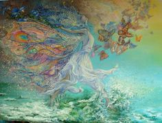 """...let joy be unconfined..."" ― George Gordon Byron (painting by Josephine Wall)"