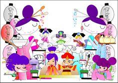 Boceto oriental para la Falla infantil 2013 de Beniferri
