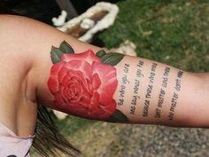 Inner Upper Arm Tattoos for Women -