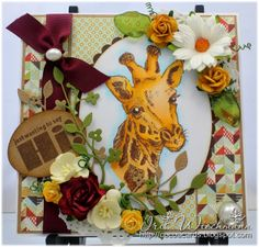 Paper Crafting in Cocoa / Prickley Pear Stamps