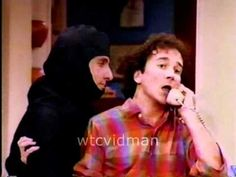 Balki the Ninja... I miss Balki and Larry :) Wish ME TV or Antenna TV would air Perfect Strangers.