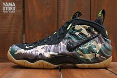 "Nike Air Foamposite Pro ""Army Camo"" 
