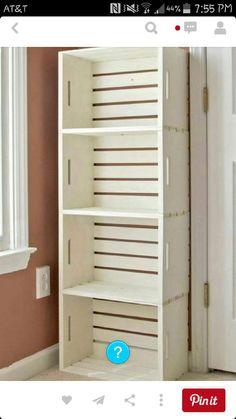 diy bookcase out of crates#DIY&Crafts#Trusper#Tip