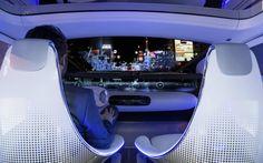 Mercedes F015 Interior
