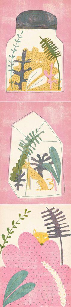 pink terrariums  greenhouses | barbara dziadosz