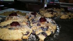 Blueberry Scones with a Berrie Jam
