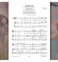 Gabriel FAURE : Tantum ergo - pour 4 voix mixtes - Editions Musiques en Flandres - référence : MeF 788