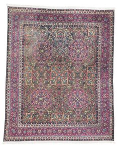 Kirman Carpet, Southeast Persia approximately 14ft. by 11ft. 6in. (4.27 by 3.51m.) circa 1920