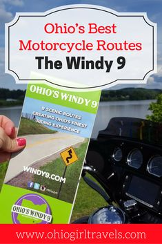 If you're looking for a motorcycle friendly route in Ohio, the Windy 9 is one sure to impress. It starts in Athens, Ohio and you can ride it as long as 1,000 miles to the end. It's a scenic trip through many parks and features beautiful river views. We were in awe of the beauty of this road trip and all of the quaint towns to stop in along the way. Check out our guide to the different routes and places to stop along the way before you tackle the Windy 9. Save this to your travel board!