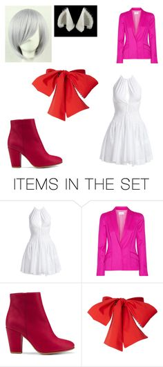 """""""Funtime Foxy Cosplay"""" by remus-paris-black on Polyvore featuring art"""