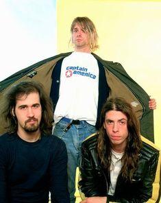For everything Nirvana check out Iomoio Nirvana Songs, Nirvana Art, Donald Cobain, Nirvana Kurt Cobain, Smells Like Teen Spirit, Music Pics, Dave Grohl, Foo Fighters, Rock Music
