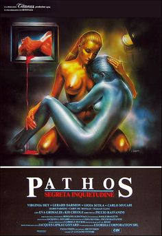 Pathos: Segreta Inquietudine Directed by Piccio Raffanini A sleazy giallo set in a kind of sci-fi future, it's shot like a music video and features the song Private Life by Grace Jones on. Horror Movie Posters, Horror Films, Virginia, Horror Drawing, Stefan Zweig, Movie Teaser, Aliens Movie, Classic Artwork, Classic Horror Movies