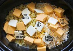 Crockpot mac and cheese — Pip and Ebby. Cream cheese instead of velveeta?