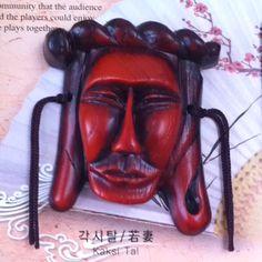 Korean traditional mask - Kaksi Tal