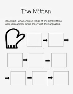 "The Autism Adventures of Room 83: ""The Mitten"" By Jan Brett Activities!"