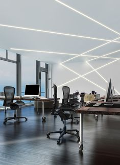 LED Linear Lighting System - The Most Stylish Choice for Indoor Lighting Linear Lighting, Modern Lighting, Lighting Design, Lighting System, Lighting Ideas, Lighting Solutions, Outdoor Lighting, Office Lighting, Interior Lighting