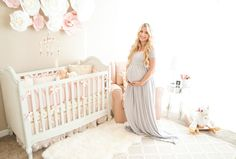 Blogger Katelyn Jones A Touch of Pink Pretty Baby Girl Nursery Decor