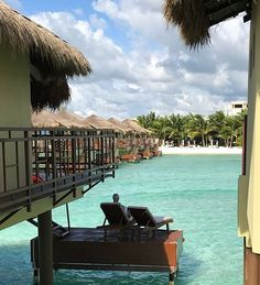 El Dorado Maroma: You'll Love The Dreamy Palafitos (Overwater Bungalows) - Wild About The West Tulum Restaurants, Tulum Hotels, Cancun Resorts, Mexico Resorts, Inclusive Resorts, Vacation Wishes, Vacation Places, Dream Vacations, Vacation Ideas