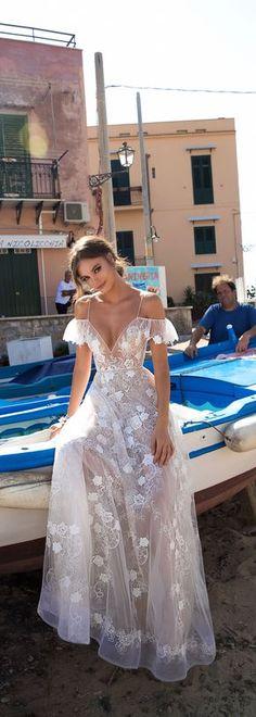 MUSE by Berta Sicily Wedding Dress Collection  #BERTA #WeddingDress #BridalGown #Bride