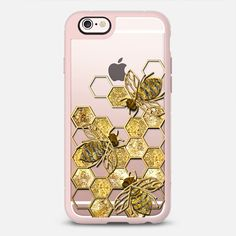 Our iPhone X cases and covers are hand-picked by our editors and voted by our community. PSA: they're not just a pretty iPhone X case. Iphone 6 Cases, Cool Phone Cases, I Love Bees, Bee Jewelry, Jewellery, Bee Gifts, My Christmas List, Bee Design, Bee Theme