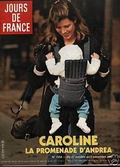 Princess Caroline of Monaco & Andrea Casiraghi.