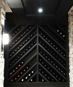 wine cellar earthquake screens over wine shelves - Google Search