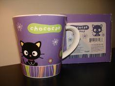 Sanrio Chococat Mug   I want this I love purple and chococat is awesome