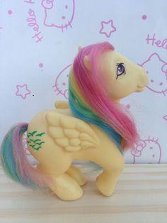 Vintage Rare My Little Pony Mexican G1 Mexico Rainbow Skydancer Small Symbols