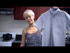 Yvonne Shows You 3 Ways to Transform Your Clothes - American Express Fabric Dyeing Techniques, Passion Project, Inspirational Videos, Diy Clothing, Crochet Crafts, Craft Ideas, Craft Projects, Refashion, Arts And Crafts