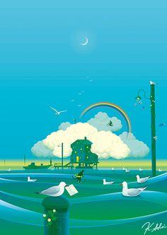 © Kouzou Sakai #illustration