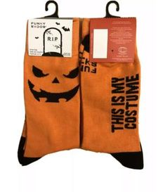 Life Is Too Short To Wear Boring Socks! Halloween Socks, Crazy Socks, Novelty Socks, Life Is Short, Horror, Funny, How To Wear, Funny Parenting, Hilarious