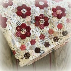 Tutorial on invisible binding . . . good idea. Every Stitch: Hexagon Star