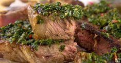 This low-carb and keto-friendly chimichurri steak recipe is a new, delicious twist for keto dinner. Steak Recipes, Paleo Recipes, Low Carb Recipes, Chimichurri Recipe Steak, Atkins Recipes, How To Dry Oregano, Low Carb Diet, Keto Dinner, Clean Eating Recipes