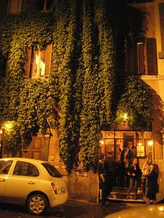 Ai Tre Scalini (The Three Steps), our favorite bar in Rome.