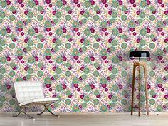 Design #Tapete Florale Illusion